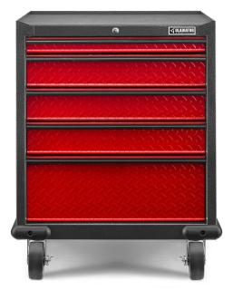GLADIATOR® Moduł szufladowy GearDrawer Premium Racing Red