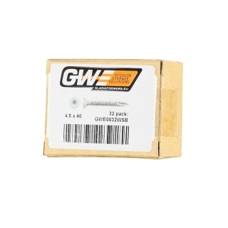 GWE® Vis blanches (pack de 32)